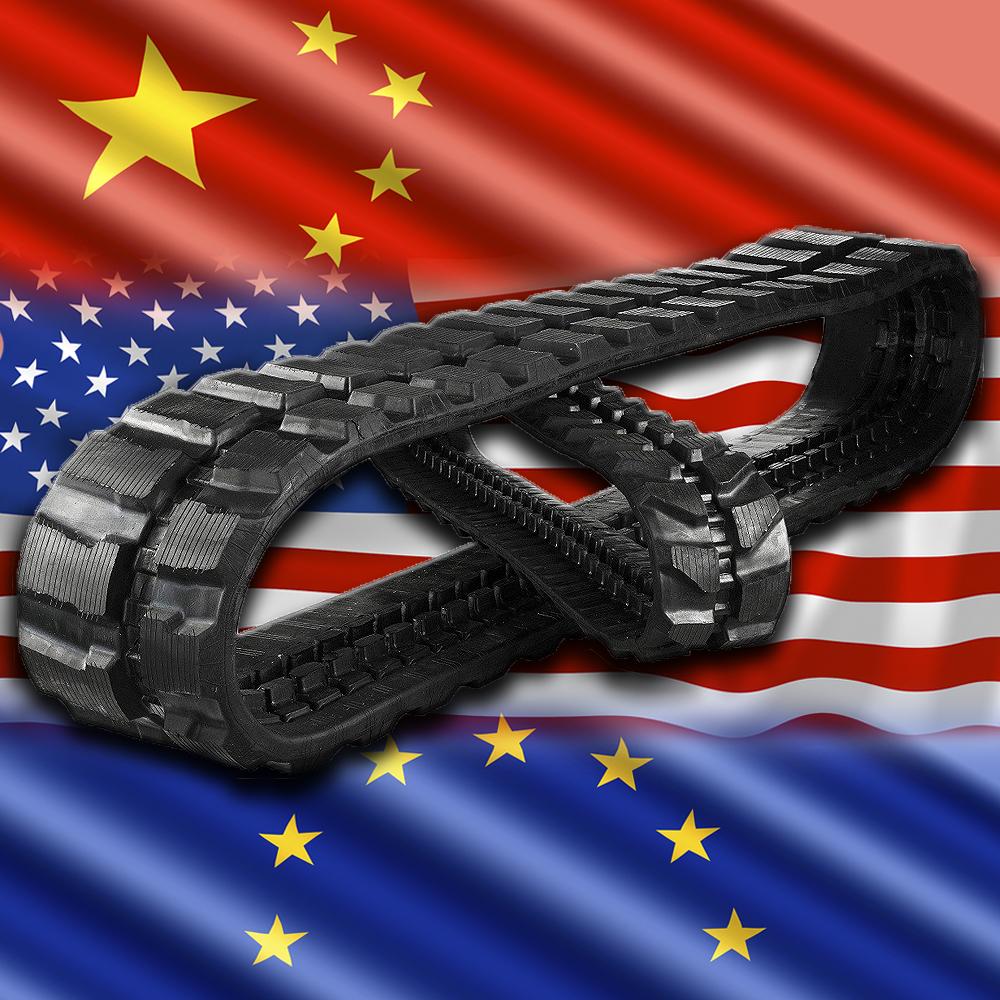 Гусеницы для ГНБ установок производства США, Европы и Китая