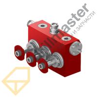1P104175 Гидравлический корпус (Гидрокоробка) SPM TWS-600S